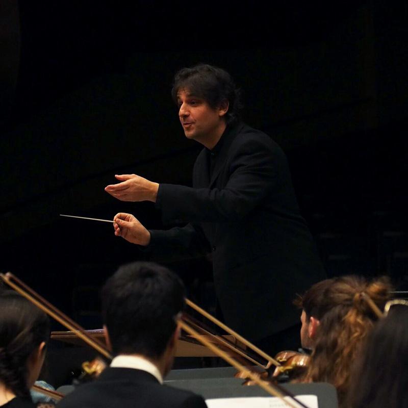 Víctor Cano, director de orquesta
