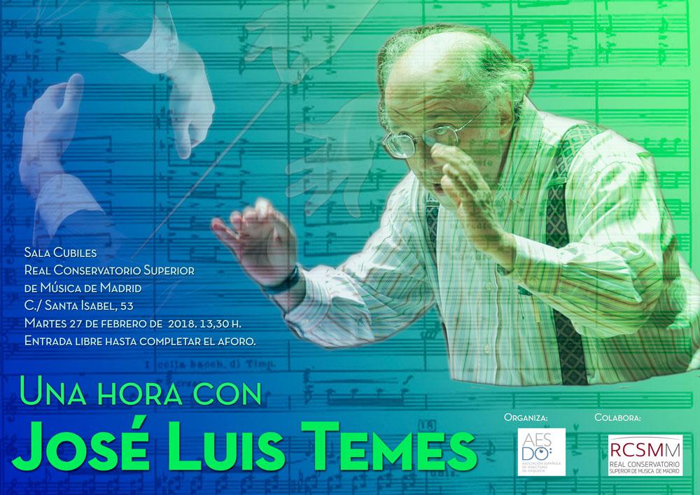 Una hora con José Luis Temes
